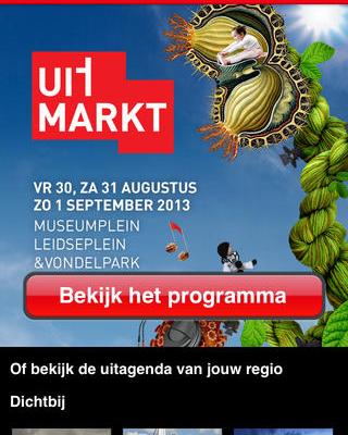 Uitmarkt Amsterdam