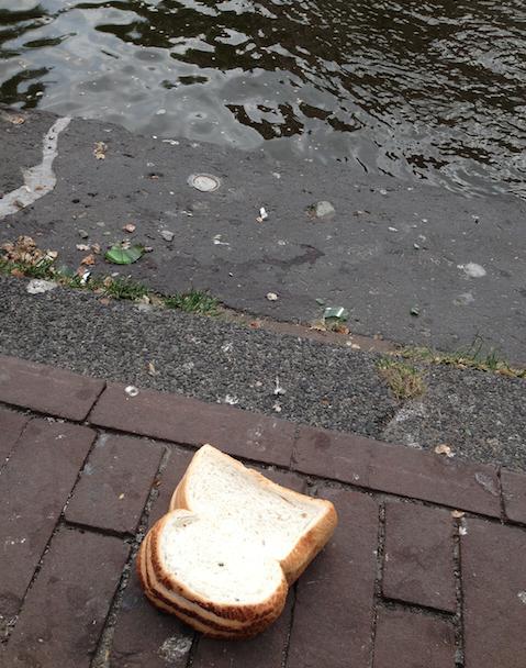 Broodje tevredenheid!