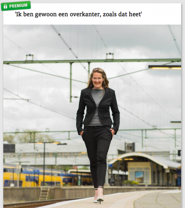 Profi fotoshoot Noordhollands Dagblad