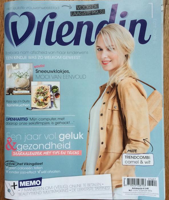 Vriendin cover 1